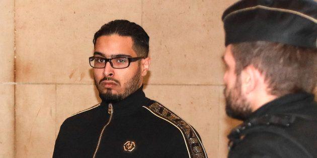 Jawad Bendaoud, ici le 21 novembre au Palais de justice de Paris, était entendu ce mercredi par la cour