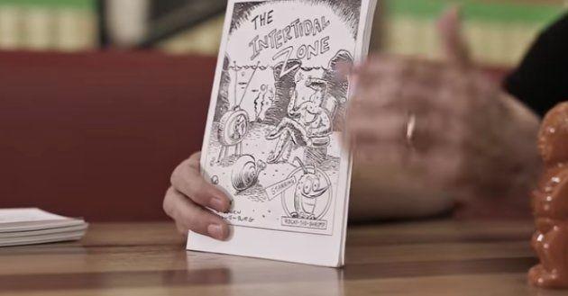 Exemplaire du premier comic du créateur de Bob