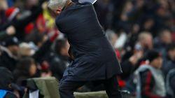 Oui, Mourinho est bien en train de fêter un
