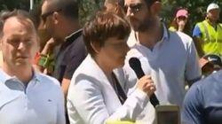 La ministre des Outre-Mer chahutée par des gilets jaunes lors de son arrivée à La
