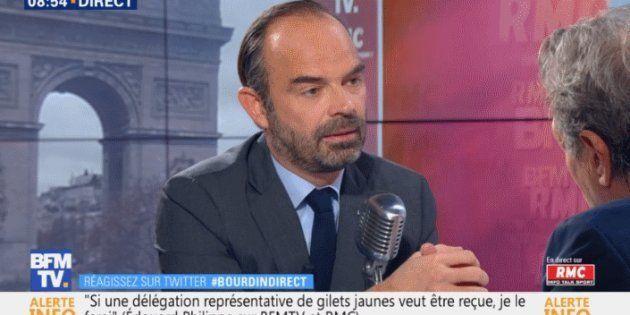 Édouard Philippe a affirmé sur RMC et BFMTV qu'il n'y aura pas de coup de pouce pour le Smic au 1er janvier