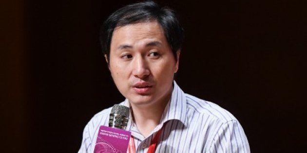 Le chercheur chinois He Jiankui avait affirmé dans une vidéo avoir réussi à faire naître des jumelles...