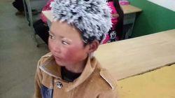L'histoire de cet écolier aux cheveux gelés émeut la