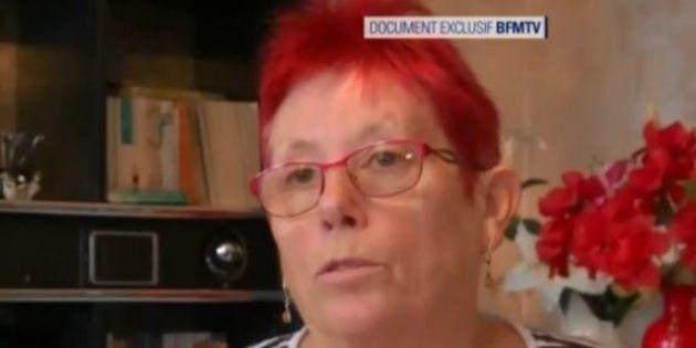 La mère de Jonathann Daval lors d'un entretien diffusé par BFMTV le 28 novembre