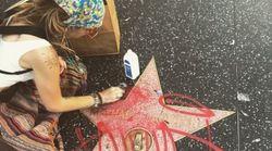 L'étoile d'un homonyme de Michael Jackson vandalisée à Hollywood, Paris Jackson l'a quand même