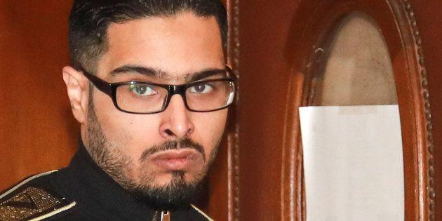 Jawad Bendaoud, ici le 21 novembre, est revenu ce mercredi sur une phrase que lui attribue son