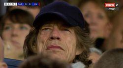 DiCaprio et Jagger dans les tribunes du