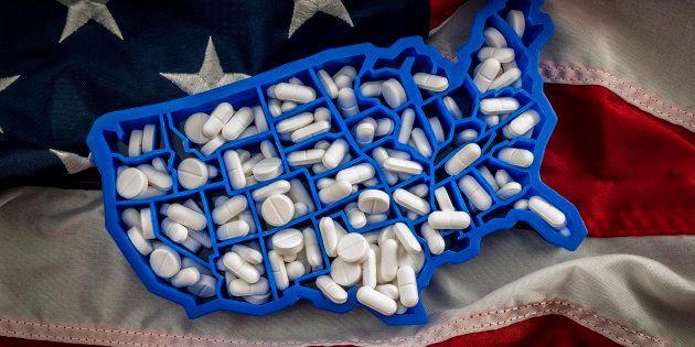En 2017, environ 70.000 Américains sont morts d'overdoses de drogues, 10% de plus qu'en