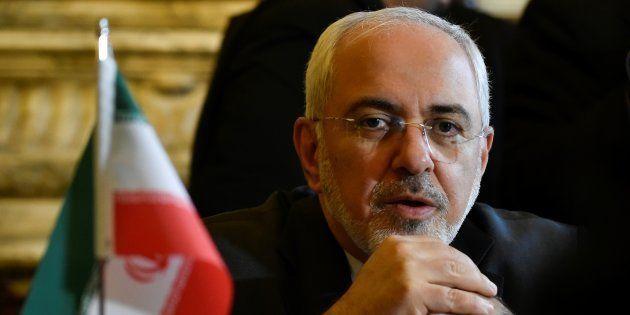 Mohammad Javad Zarif à Bruxelles le 11 janvier