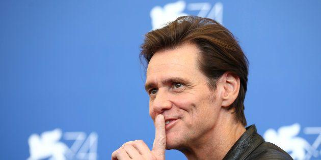 Jim Carrey à Venise le 5 septembre