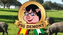 Carles Puigdemont réclame le retrait de la marque de jambons