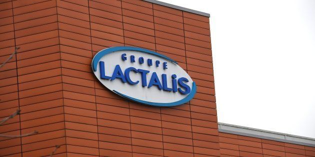 Le siège social de Lactalis à Laval, le 12 janvier