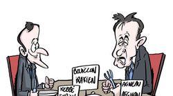 BLOG - Ce qu'Emmanuel Macron a mis au menu de son déjeuner avec Giuseppe