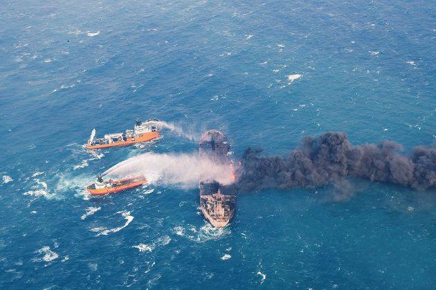 Le pétrolier iranien le 11