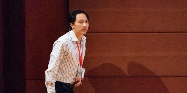 Le chercheur He Jiankui à Hong Kong le 28 novembre