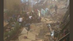La Bourse de Jakarta sous les gravats après l'effondrement d'un balcon, plus de 70