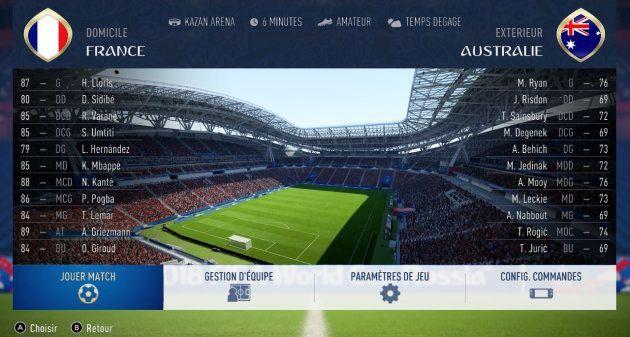 France-Australie à la Coupe du monde 2018: l'intelligence artificielle de