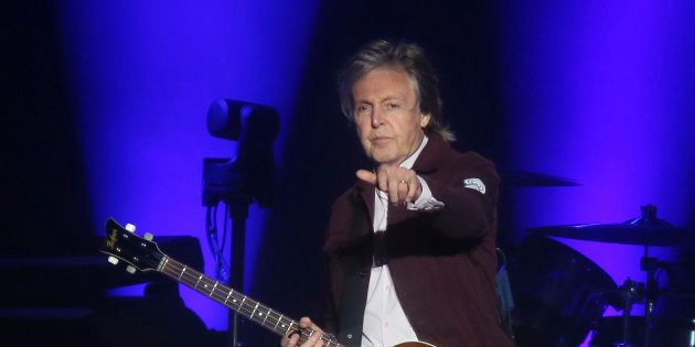 Paul McCartney s'est rendu sur la tombe de Johnny