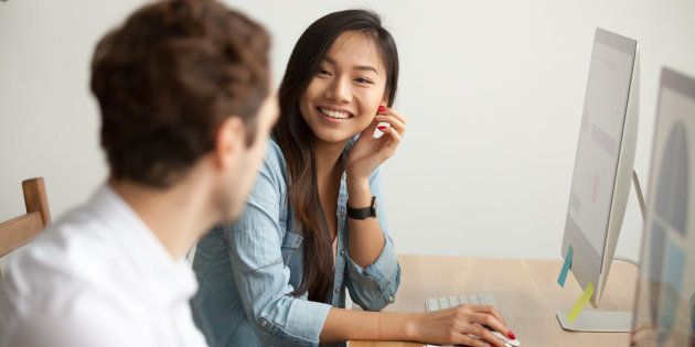 Parler de son métier et transmettre son savoir à un jeune, c'est ce souvenir pourquoi vous avez choisi...