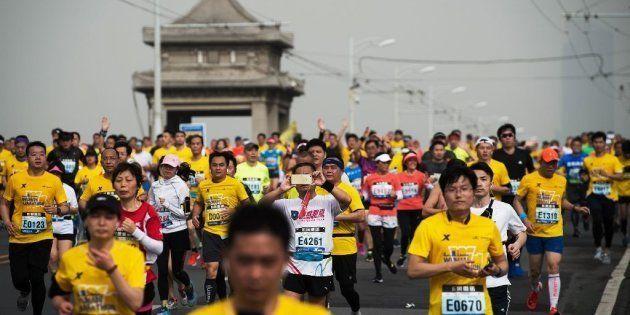 Des dizaines de coureurs de marathon en Chine prennent des raccourcis, voire se font remplacer. L'Etat...