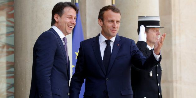 Après la crise de l'Aquarius, Emmanuel Macron et Giuseppe Conte actent leur