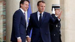 Après les vives tensions sur l'Aquarius, Macron et Conte actent leur