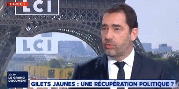 A la veille de la mobilisation des gilets jaunes, Christophe Castaner s'est payé Jean-Luc Mélenchon et...