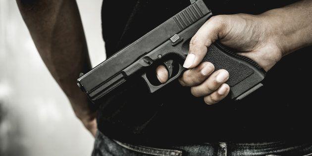 Un lycéen a été arrêté avec deux pistolets dans son établissement à Argenteuil, jeudi 29 novembre (Photo