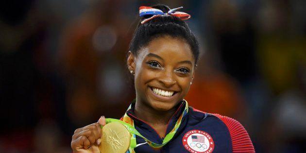 Simone Biles, quadruple championne olympique à Rio, révèle avoir été abusée sexuellement par l'ancien...