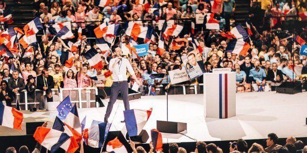Pendant la campagne présidentielle, Stanislas Guérini a assuré l'animation des meetings d'Emmanuel Macron...