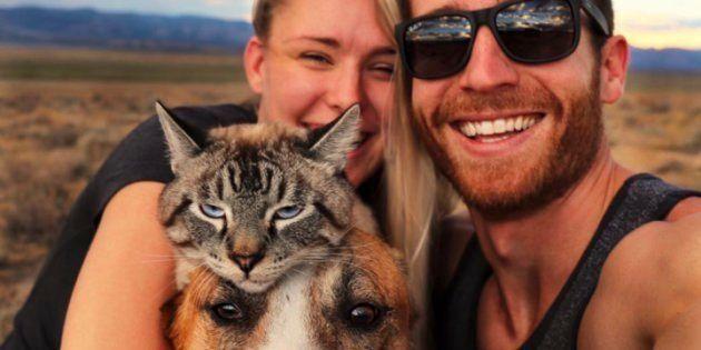 Cynthia Bennett et Andre Sibilsky adorent partir à l'aventure en embarquant Henry et Baloo, leurs animaux...