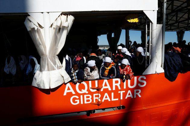 Aquarius: l'Espagne annonce que la France va bien accueillir des migrants du