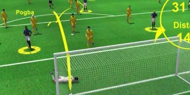 Les buts de Griezmann et Pogba lors de France-Australie décortiqués en