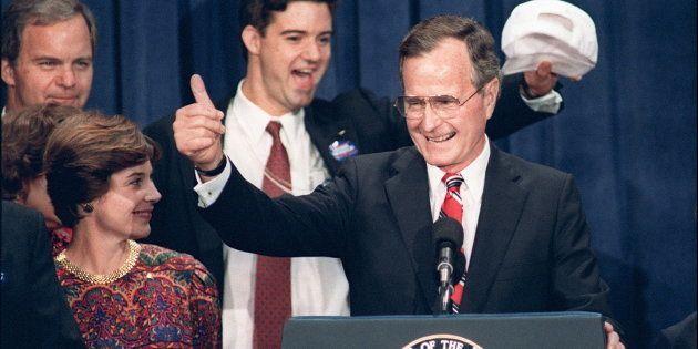 Pendant sa campagne présidentielle de 1988, George Bush avait lancé cette promesse devenue