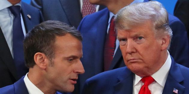 Emmanuel Macron, qui a croisé Donald Trump au G20 en Argentine, a profité de son hommage à l'ancien président...
