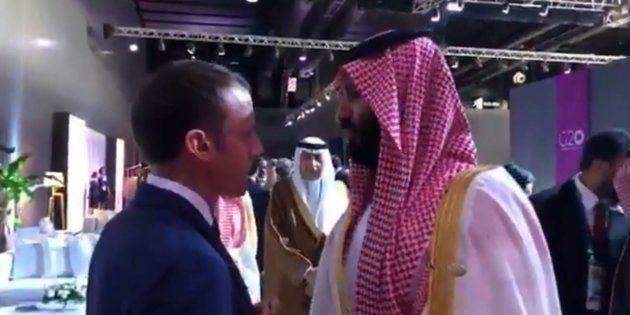 Au G20, Macron et MBS ont eu un échange bref et