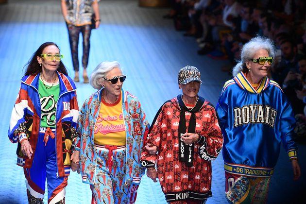Les créations de Dolce & Gabbana présentées lors de la Fashion Week de Milan, le 16