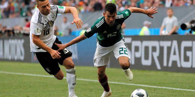 Allemagne-Mexique à la Coupe du Monde 2018: le résumé et le but en vidéo de Hirving Lozano (photo), qui...