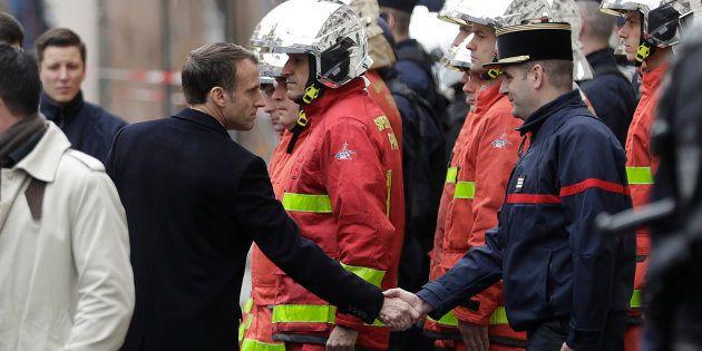 Au lendemain des violences en marge de la manifestation des gilets jaunes, Emmanuel Macron a improvisé...