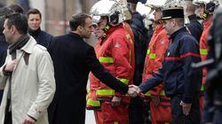 Macron improvise une visite surprise à l'Arc de