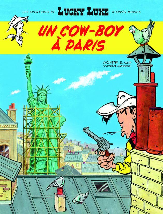 Lucky Luke débarque à Paris dans son nouvel album,