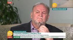 À la télévision anglaise, la première interview du père de Meghan Markle a embarrassé les