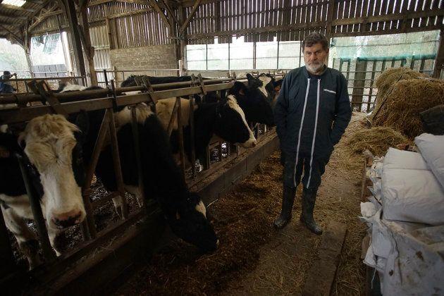 Marcel Thébault, producteur laitier à Notre-Dame-des-Landes depuis