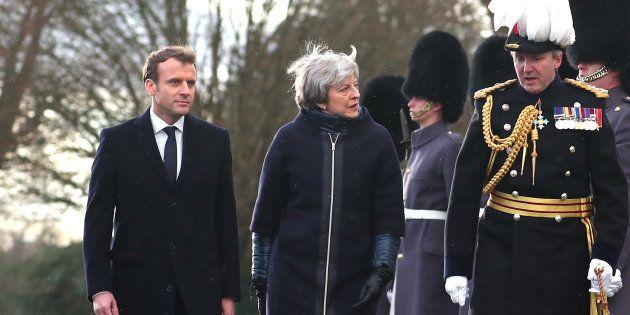 Sommet franco-britannique: La défense, ciment de l'entente cordiale entre Macron et