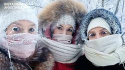 En Sibérie, il fait si froid que les cils des Russes ont