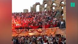 5000 supporters tunisiens ont pu regarder Tunisie-Angleterre dans un cadre de