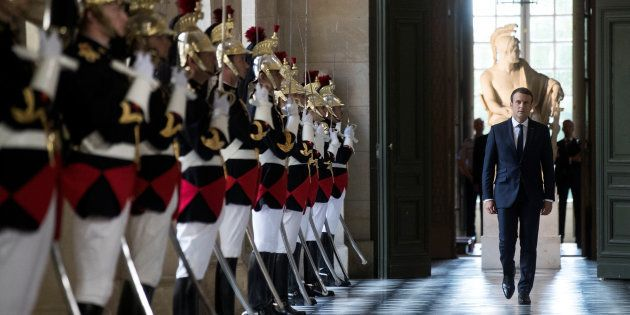 Le Parlement réuni en Congrès à Versailles le 9 juillet, Macron tient sa