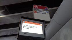 Les transports en commun de Bruxelles ont le sens du service pendant la Coupe du