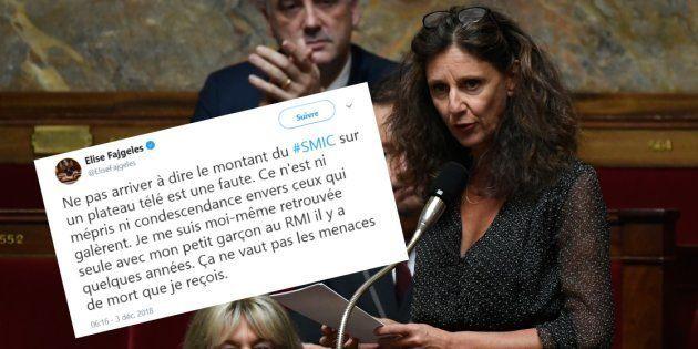La députée LREM Elise Fajgeles a reconnu une faute après une bourde sur le montant du