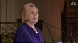 Hillary Clinton cite elle aussi la Bible pour dénoncer la